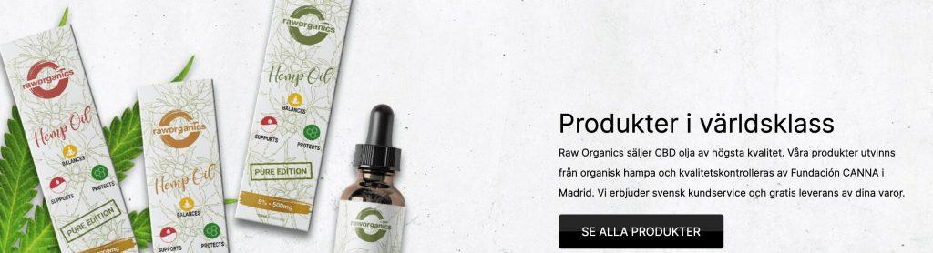 raw organics cbd