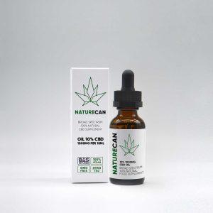 naturecan cbd olja 10% test